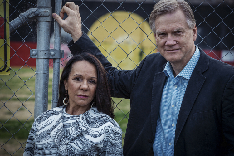Linda Burney and Andrew Bolt