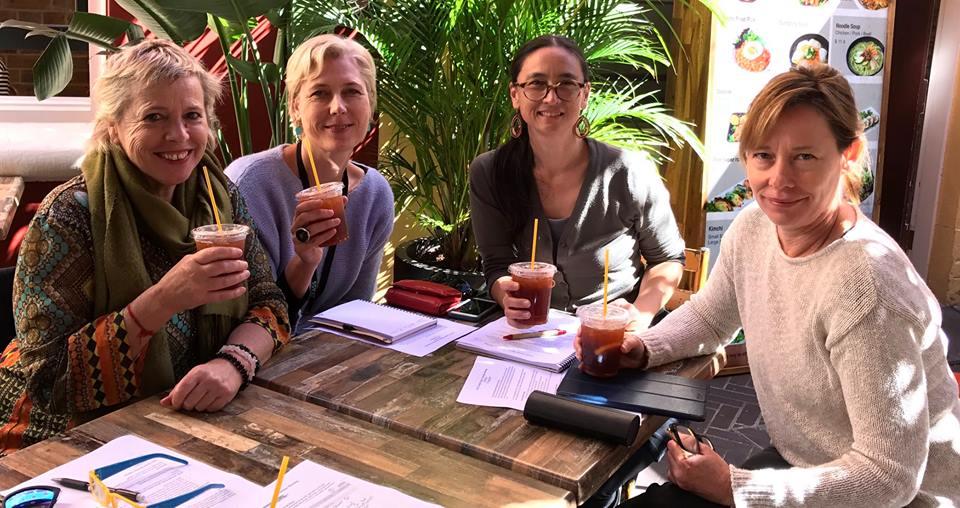 Gender Equity Commitee (Dr Yantra de Vilder, Felicity Wilcox, Caitlin Yeo, Amanda Brown)